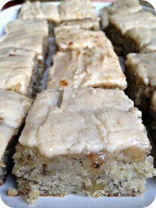 Banana Bread Brownies with Brown Butter Frosting Recipe