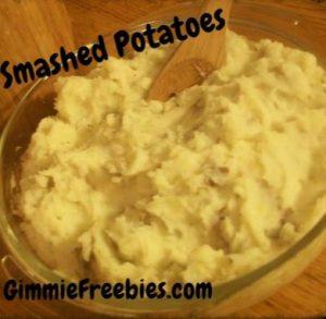 Southern Style Smashed Potato Salad Recipe