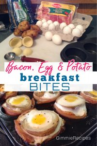 Bacon, Egg & Potato Breakfast Bites Recipe